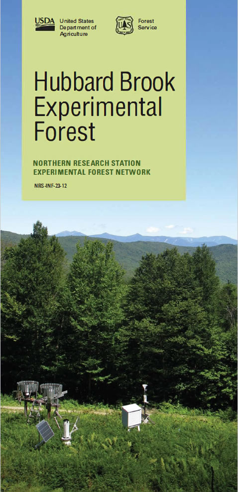 [image:] Cover of Hubbard Brook EF pamphlet