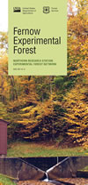 [image:] Cover image of Fernow Experimental Forest Information brochure
