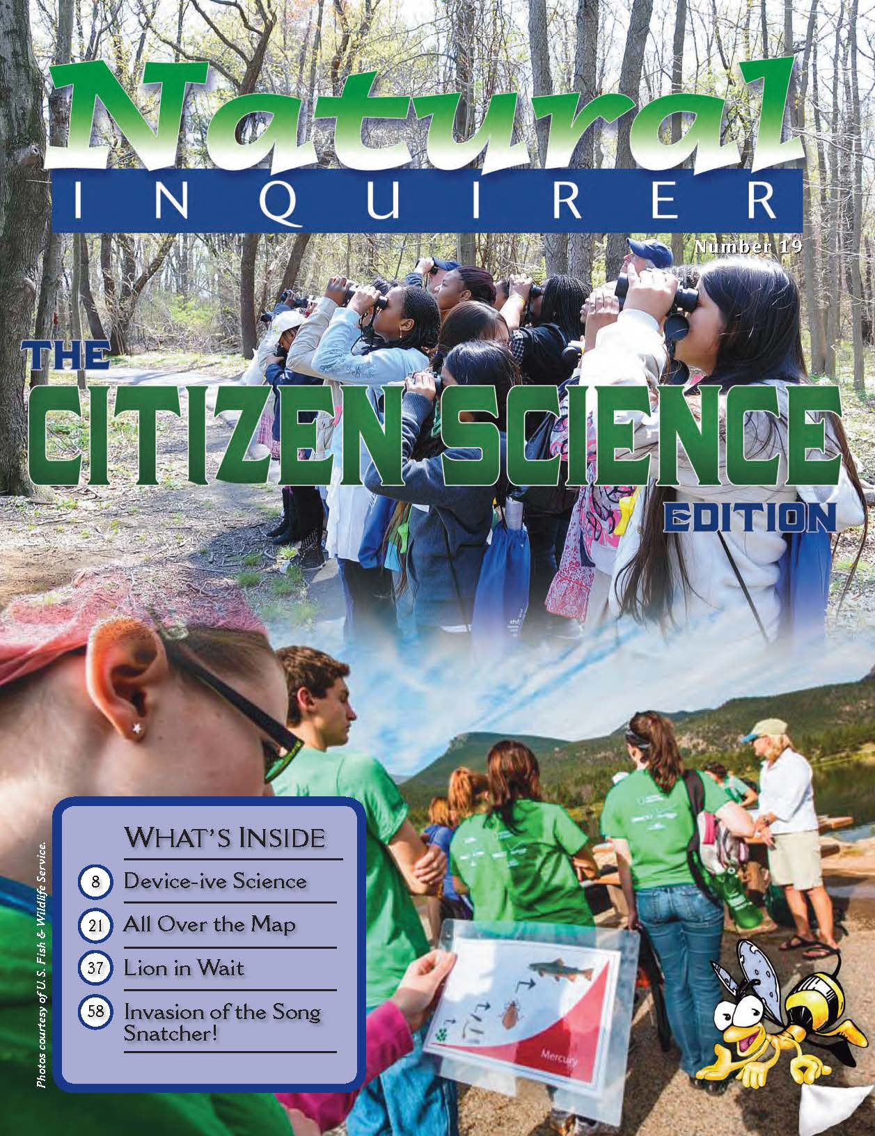 Cover image from Natural Inquirer Citizen Science edition.