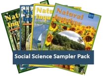 Thumbnail image of collection of Social Science focused Natural Inquirer Journals.