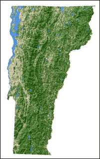 USDA Forest Service - Vermont in us map