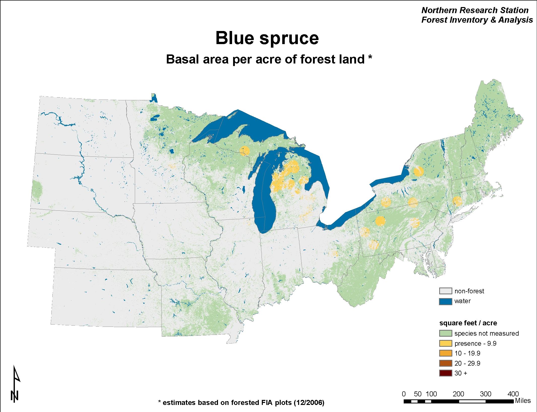 USDA Forest Service - Norway to usa map