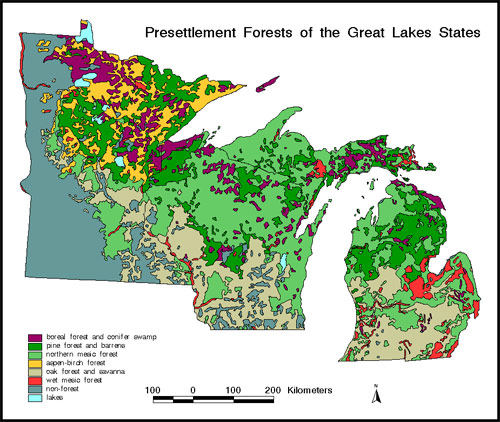 Historical ecology of the upper midwest | North Central Region ...