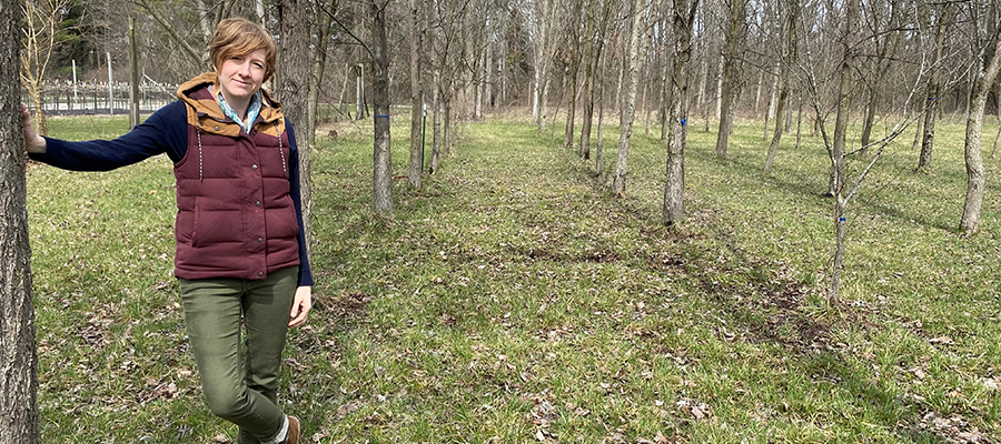 Restoring landscapes  is personal for Leila Pinchot. Photo by Matt Wilson, used with permission.