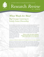 cover of Research Review volume 4