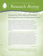 cover image of the Spring 2009 Research Review