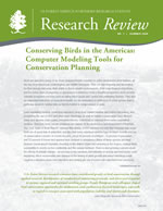 cover of Research Review volume 7