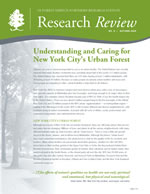 cover of Research Review volume 8