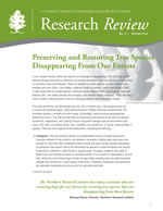 cover of Research Review volume 9