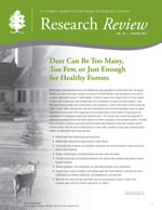 cover image of the Spring 2012 Research Review