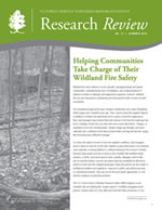 cover image of the Summer 2012 Research Review