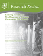 cover of Research Review volume 18
