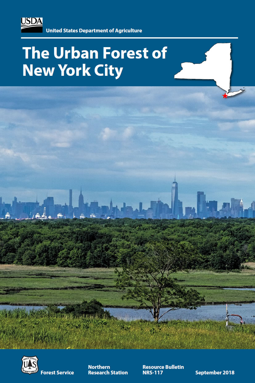 [imag:] Cover image of The urban forest of New York City.