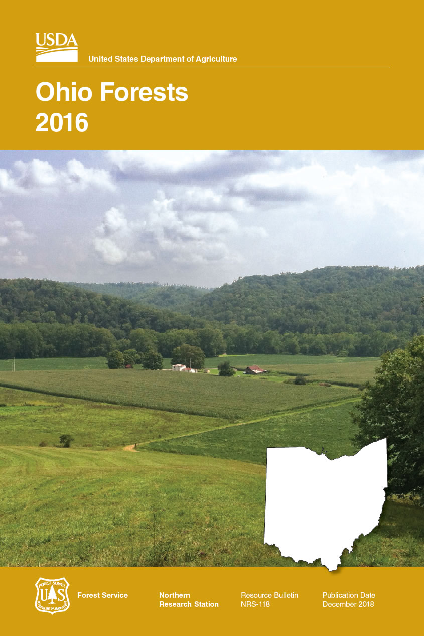 Cover image of Ohio Forests 2016