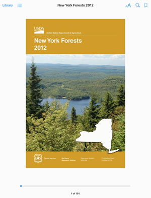 Cover image for New York Forests 2012 eBook