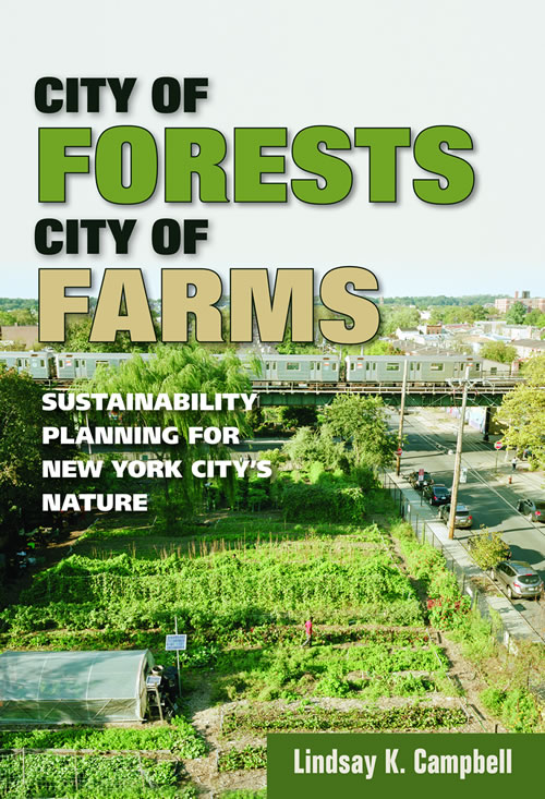 Cover image from book- City of Forests City of Farms