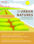 [image:] Thumbnail image of poster promoting Urban Natures Workshop