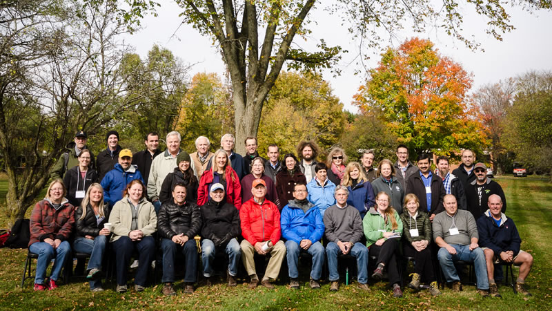 Participants in American Elm Workshop. See highlight 251 for caption