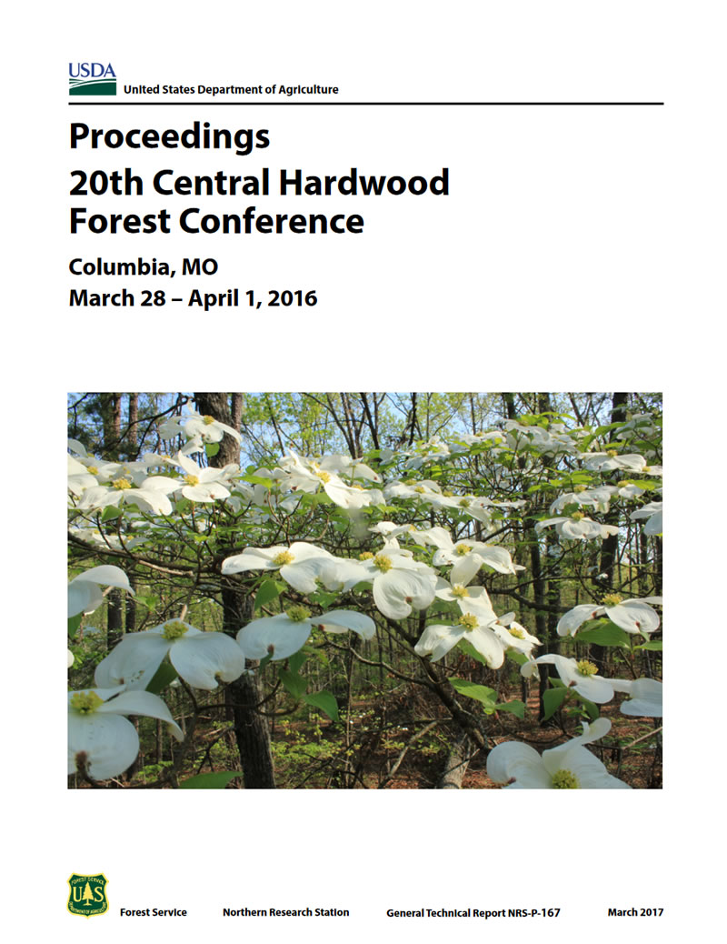 Cover image from Proceedings of the 20th Central Hardwood Forest Conference.
