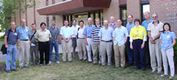 [image:] Scientific staff and cooperators of the Research Work Unit at the lab in Durham, NH.