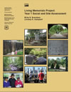 Cover image: Living memorials project: year 1 social and site assessment